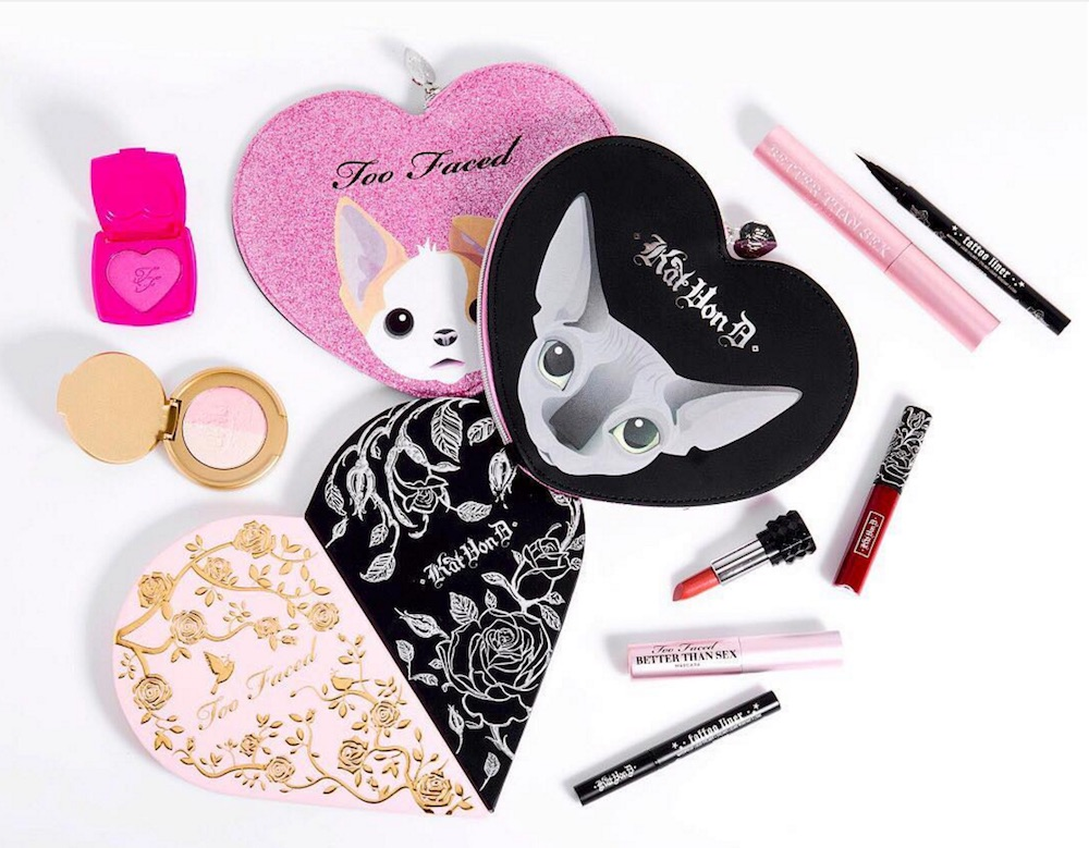 Get your wallets out because the Too Faced and Kat Von D Better Together collection just dropped