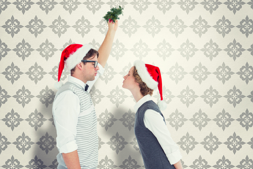 Watch this video if you've always wondered why we kiss under the mistletoe