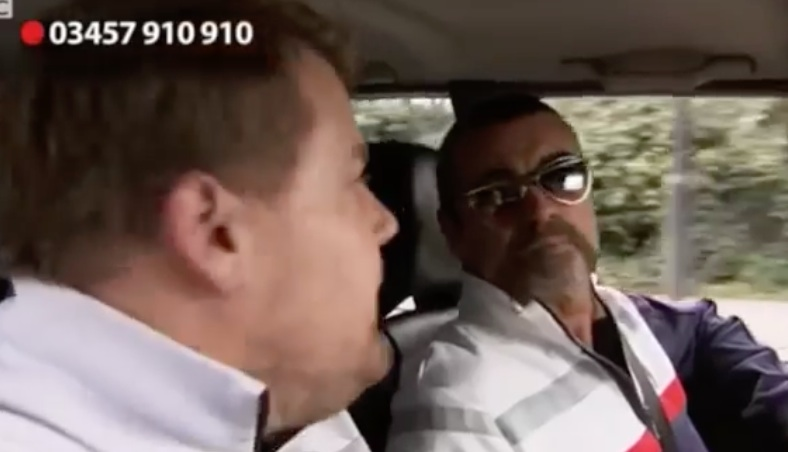 "George Michael was on an early version of ""Carpool Karaoke"" and it's warming our hearts"
