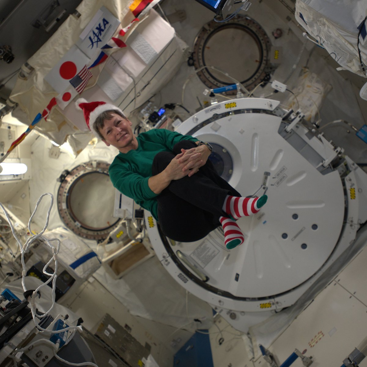 This is how astronauts celebrate Christmas in space, in case you were wondering