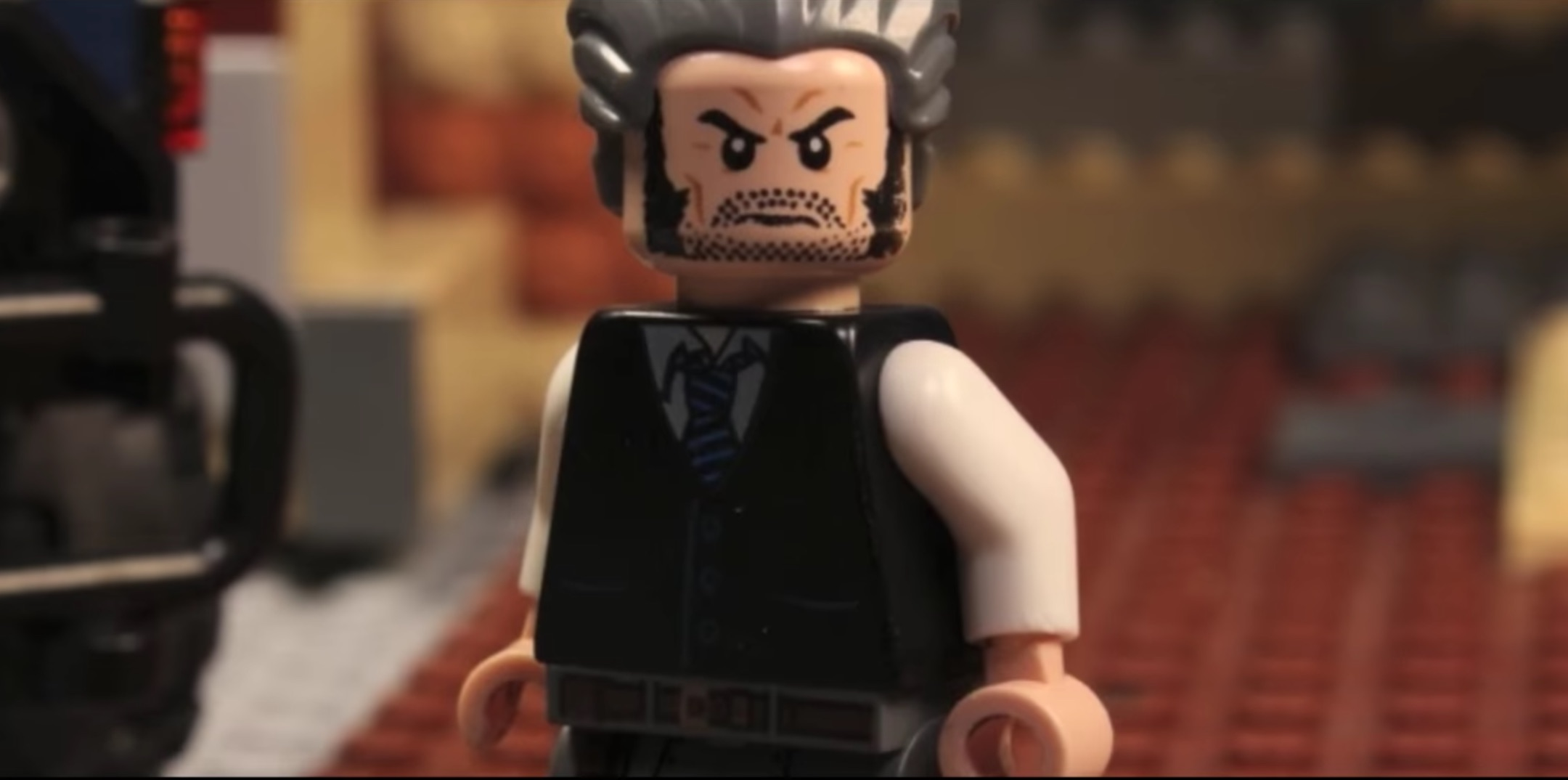 "Somebody made the ""Logan"" trailer in Lego form and it's still pretty intense"