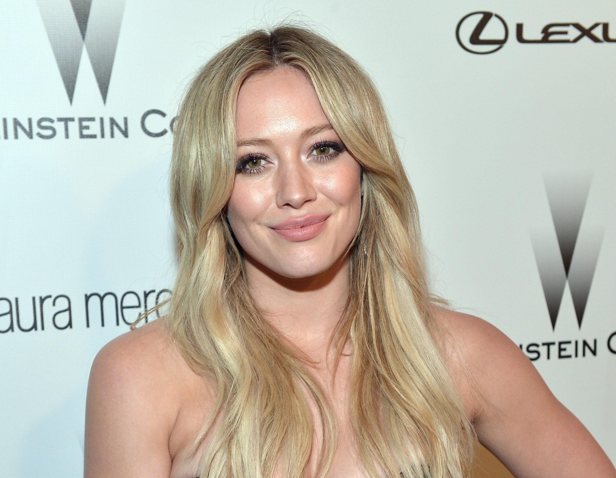 Hilary Duff rocks a brand new look and totally channels her inner space princess
