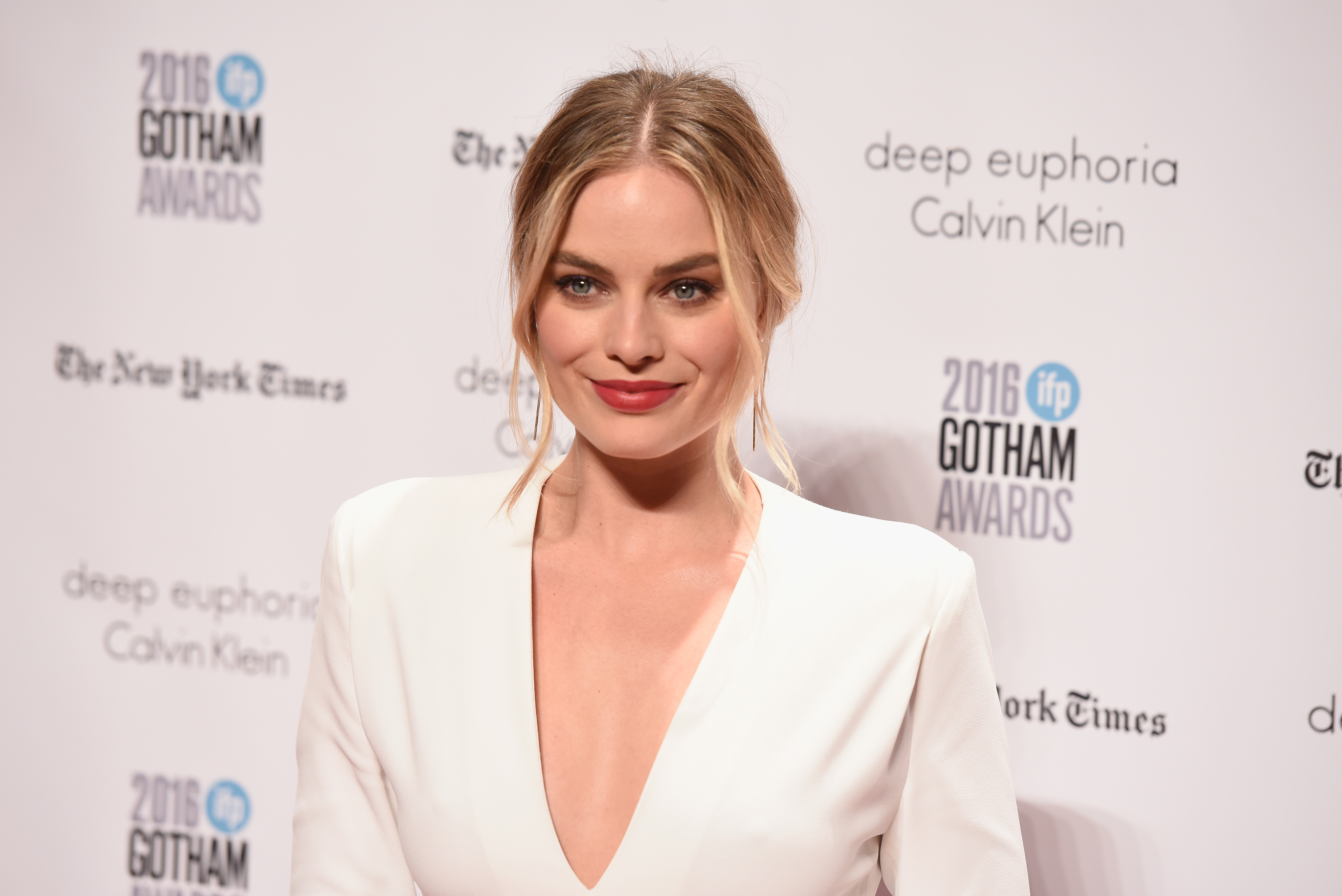 Margot Robbie had a tattoo station at her wedding for guests