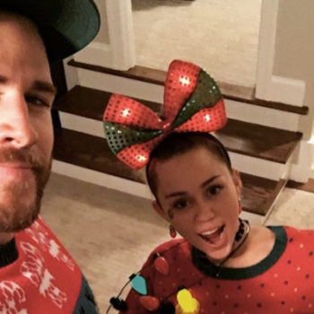 Here are the cutest matching Christmas outfits from this year's celebrity holiday celebrations