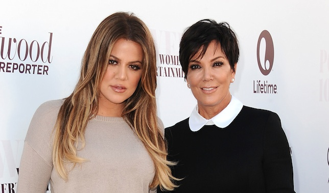 Khloé Kardashian was spotted on Christmas Eve wearing her mom's dress, proving that mother-daughter style goals are very real