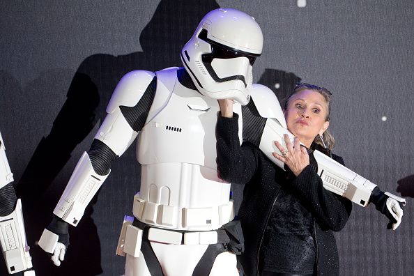 carrie fisher force awakens