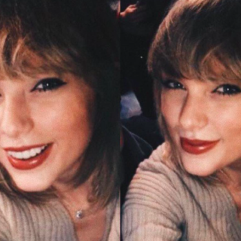 This is the super natural-looking lipstick Taylor Swift wore this weekend