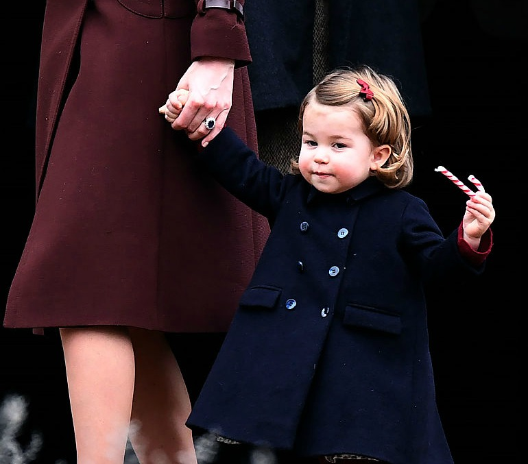 Princess Charlotte wore dark cherry red tights and now we want to wear dark cherry tights