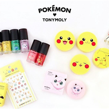 Korean beauty brand Tonymoly came out with a Pokémon collection and you're going to want everything
