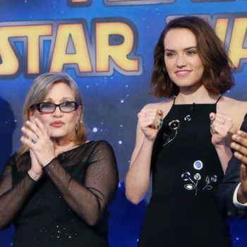 Daisy Ridley's statement about Carrie Fisher has completely moved us