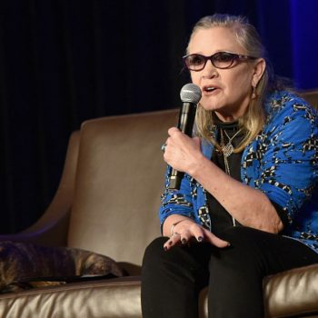 """Fans will be able to hear Carrie Fisher in two upcoming """"Family Guy"""" episodes, which will be so bittersweet"""