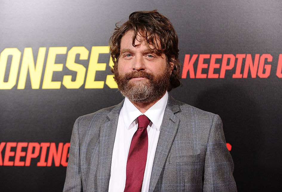 Zach Galifianakis just welcomed a son, and we're so happy for him!