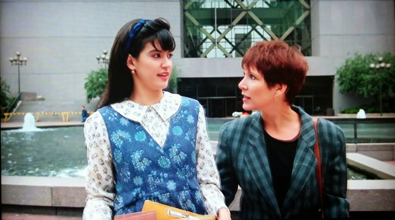"Remembering one of Carrie Fisher's most kickass, #FriendshipGoals roles as Janie in ""Drop Dead Fred"""