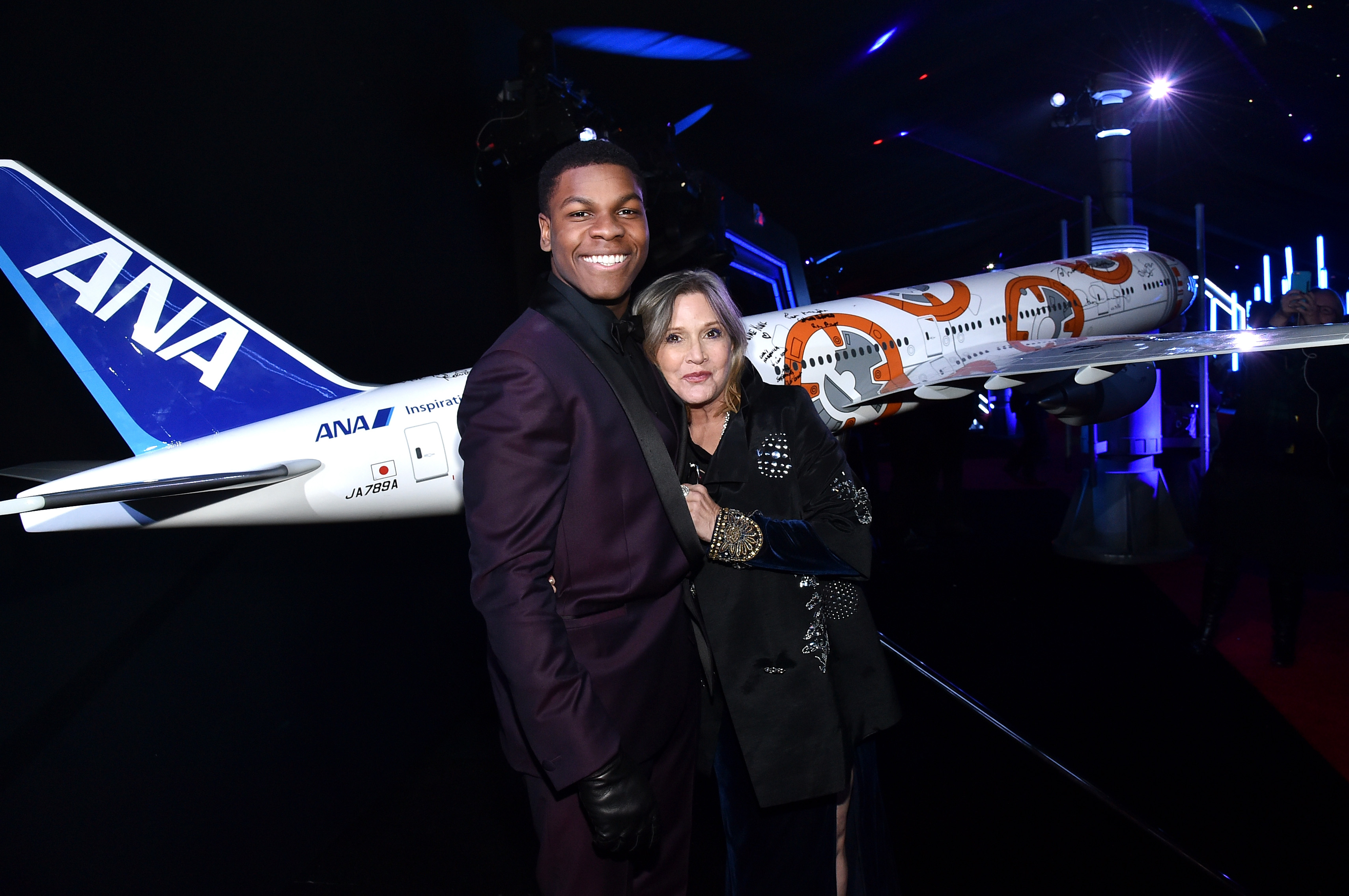 John Boyega just shared a touching Instagram tribute to Carrie Fisher, and our hearts are heavy again