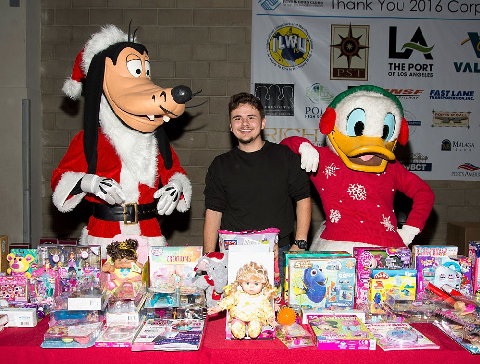 Michael Jackson's son Prince is giving back to the community, and we think his dad would be so proud of him