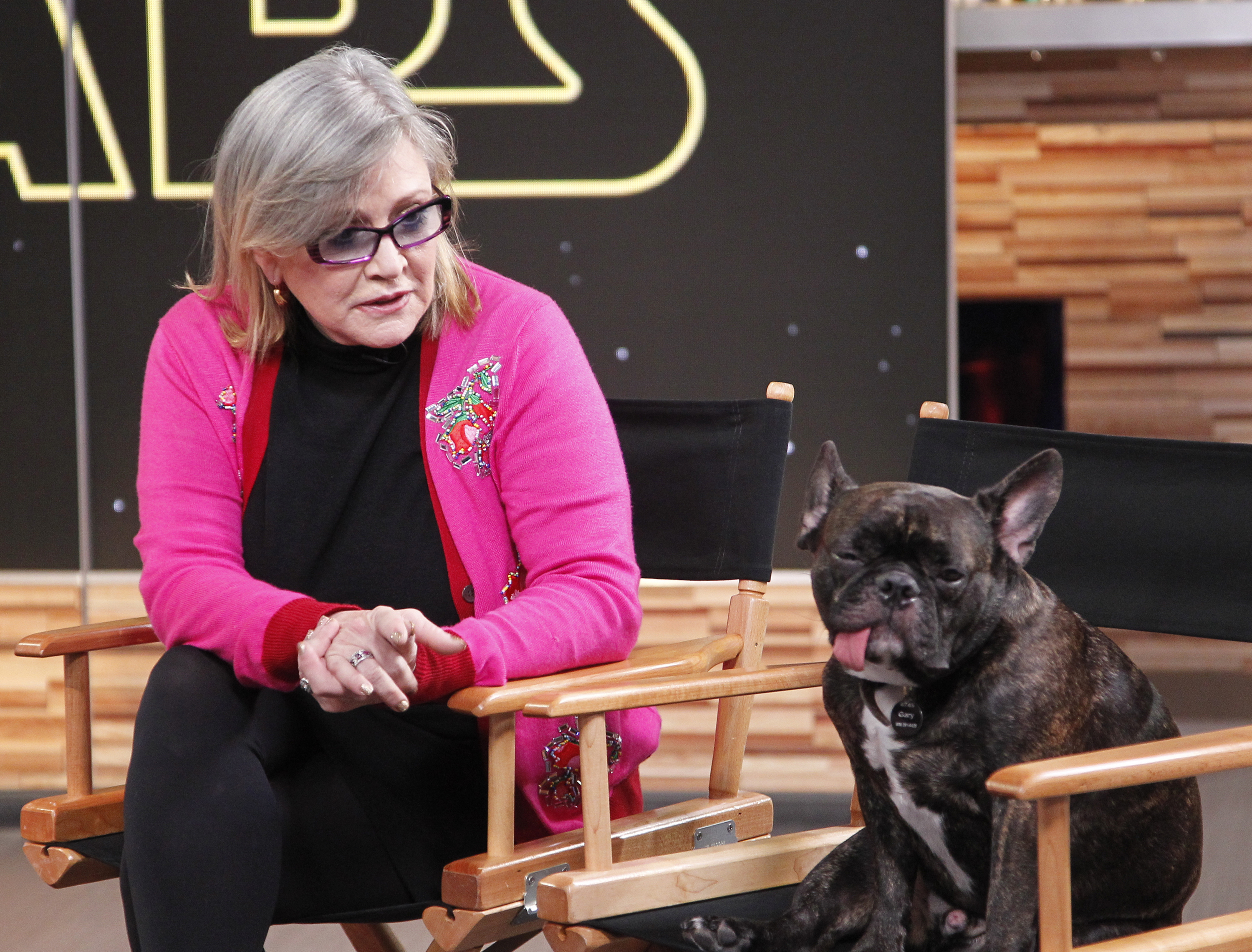 Carrie Fisher's beloved dog, Gary, has found a new home and we're SO happy