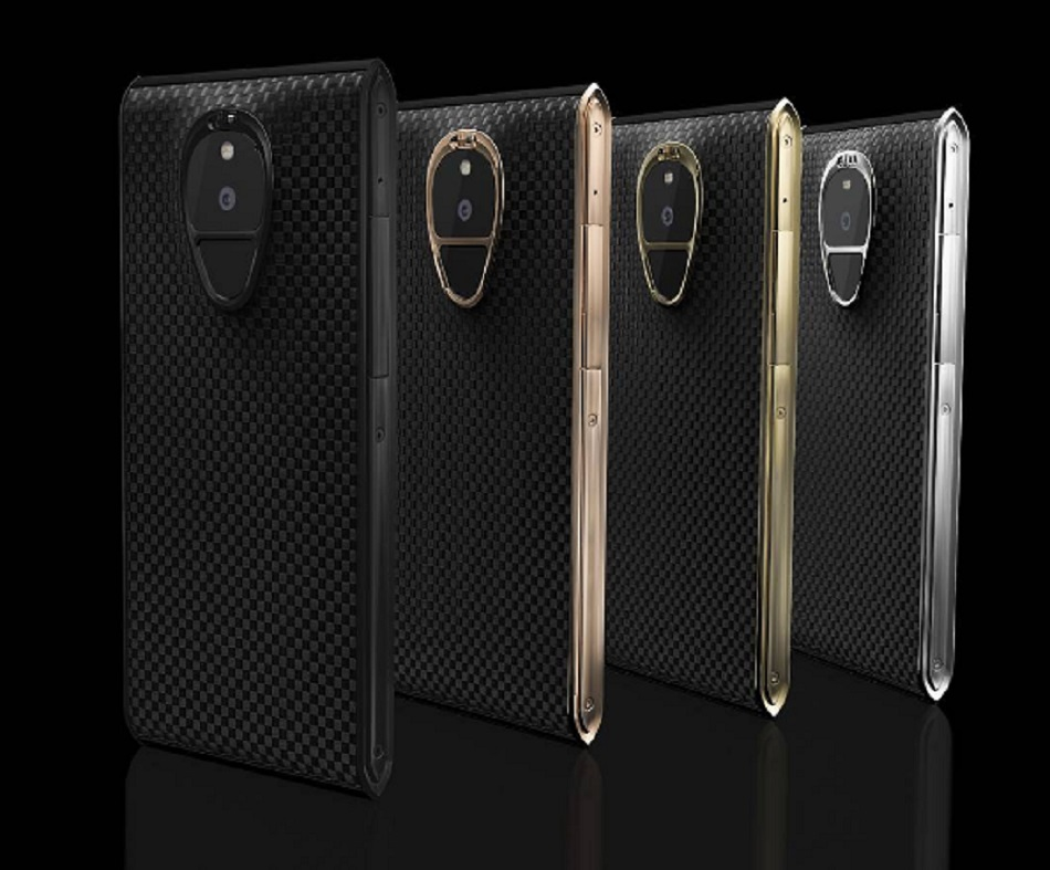 Here's a $20,000 smart phone, and the perks that come with it are insanely luxurious