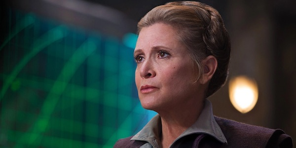 "Carrie Fisher had already finished filming ""Star Wars: Episode VIII"" so Leia lives to fight another day"