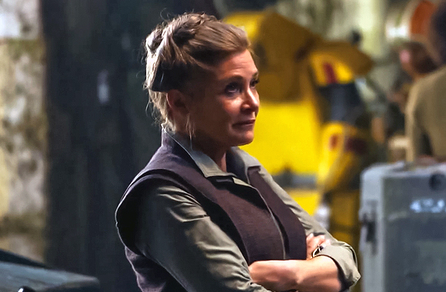 "This ""Star Wars: The Force Awakens"" deleted scene is pure Leia — and Carrie Fisher — magic"