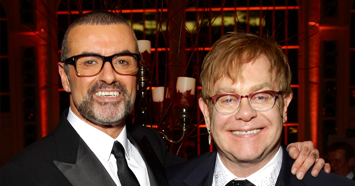 Elton John just made an emotional tribute to George Michael by performing their duet