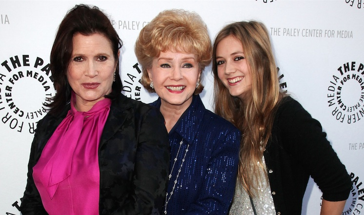 Billie Lourd's stepfather posted the kindest tribute to Carrie Fisher and Debbie Reynolds, and we're so very moved