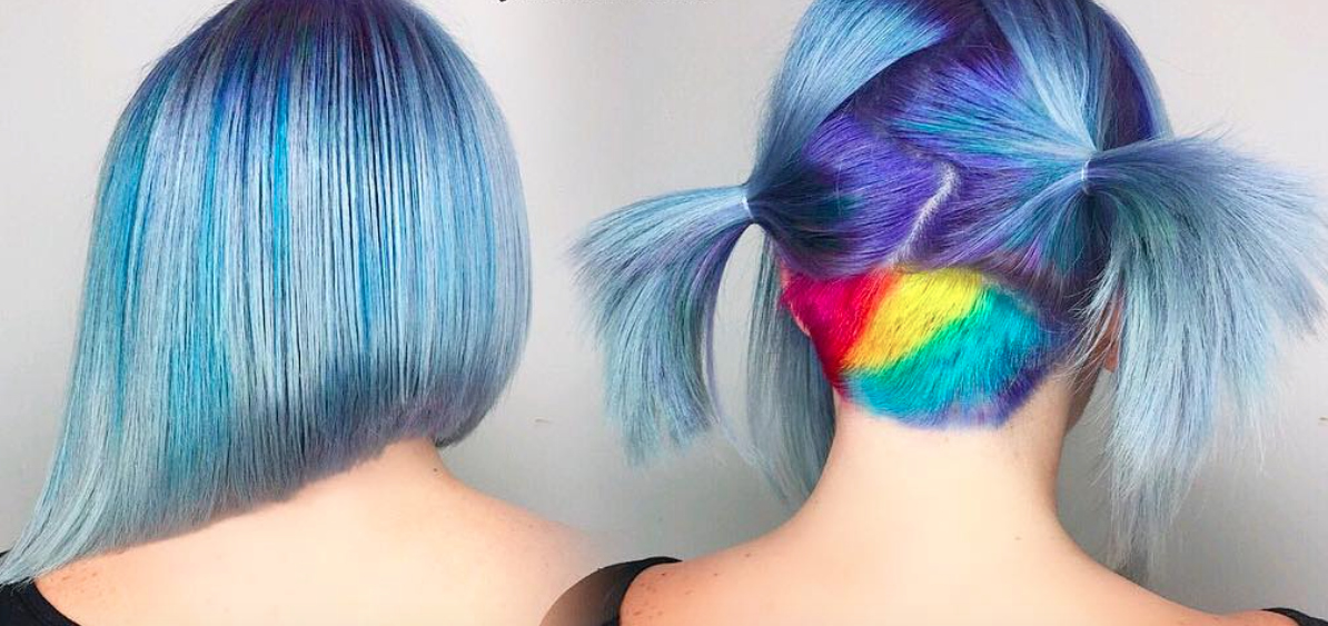 """Lollipop hair"" is the hair trend to try if you want to go *seriously* bold in 2017"