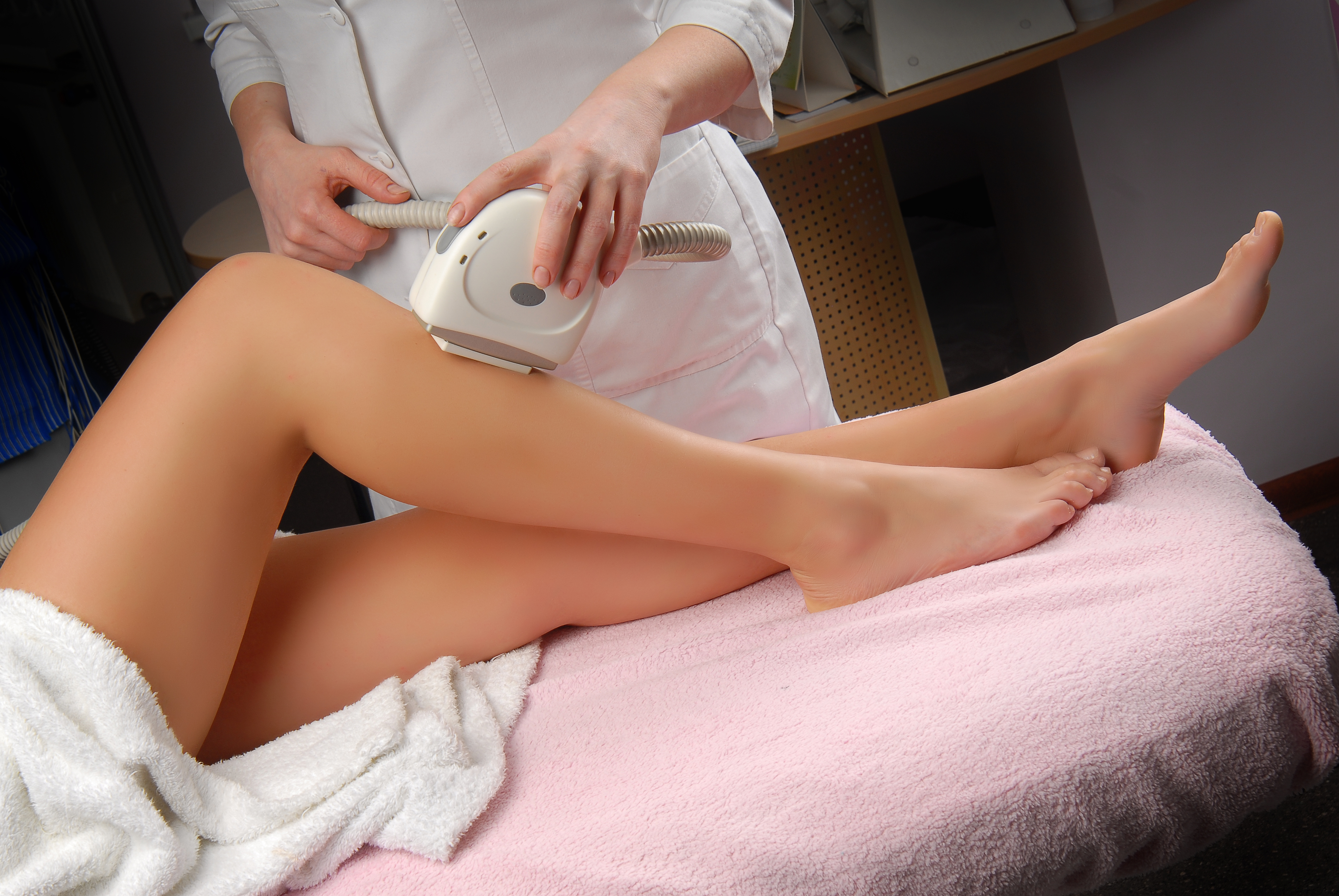 This is what it really looks like when you get laser hair removal