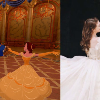 """This """"Beauty and the Beast"""" engagement photo shoot is literally what dreams are made of"""