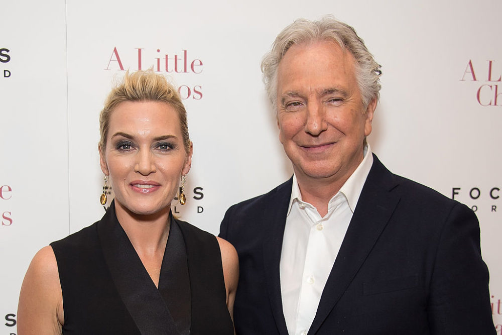Kate Winslet's touching tribute to Alan Rickman is the most beautiful thing we've heard today