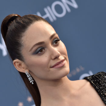 Emmy Rossum is ringing in the new year like the princess she is