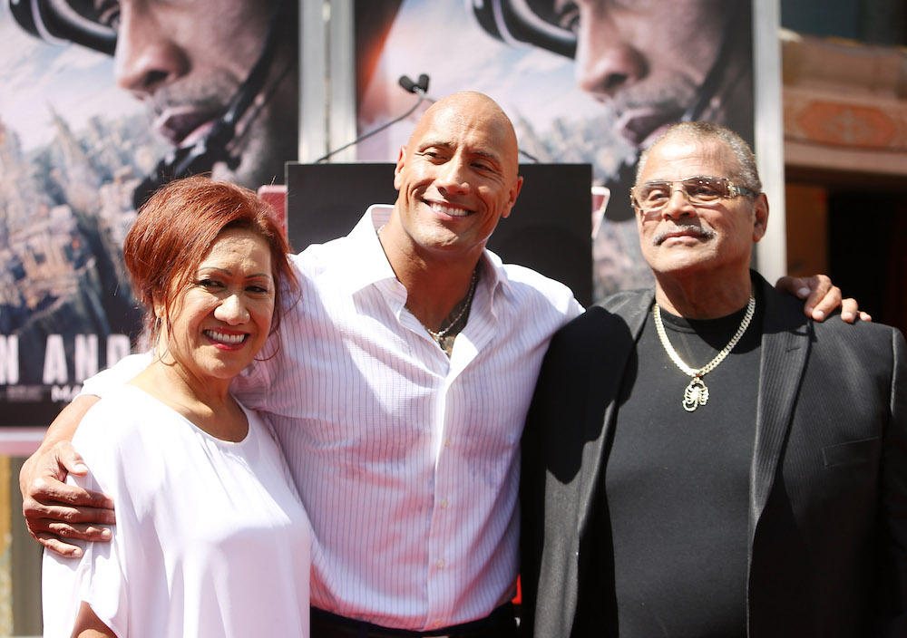 The Rock just shared the most powerful story about his dad on Instagram