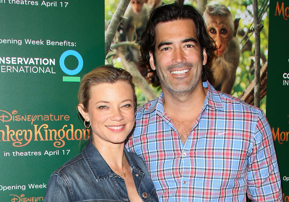 Amy Smart just had her first baby, and the pic and name are both too cute to handle