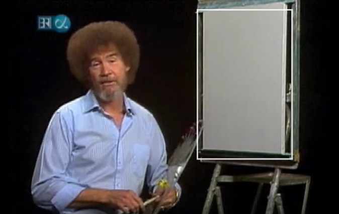 OMG this video of Bob Ross' son proves that luscious hair definitely runs in the family