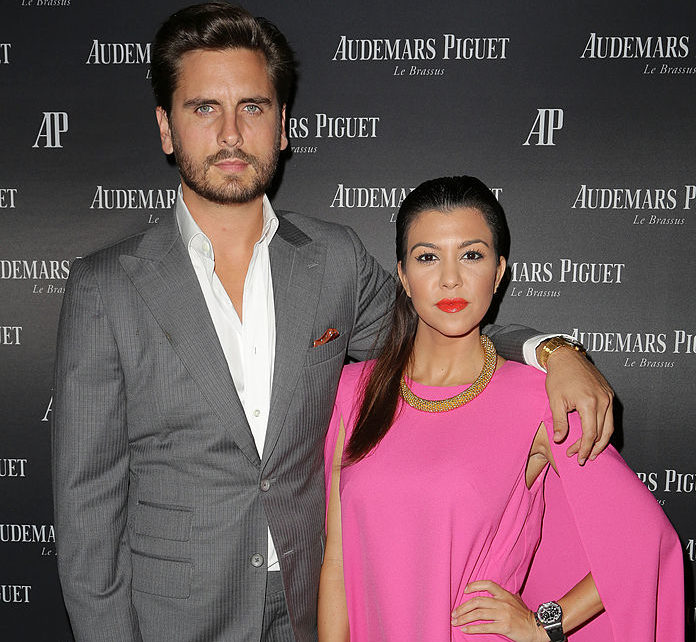 Kourtney Kardashian and Scott Disick posted a ski selfie that proves they look flawless even while freezing