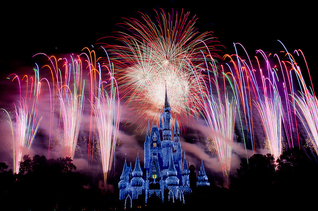 Here's what Disney World looks like on the busiest day of the year — aka New Year's Eve