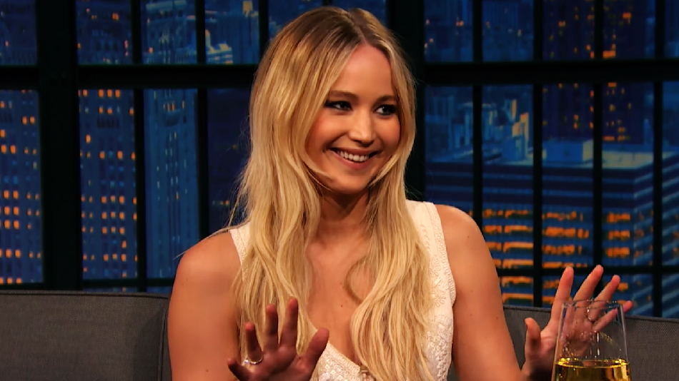 Jennifer Lawrence chatted about her dog, Pippi Lawrence-Stocking, with Seth Meyers, and we love her devotion