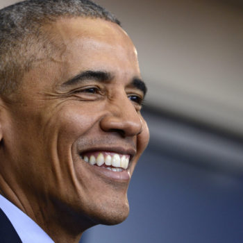 Obama said the sweetest thing about his mom