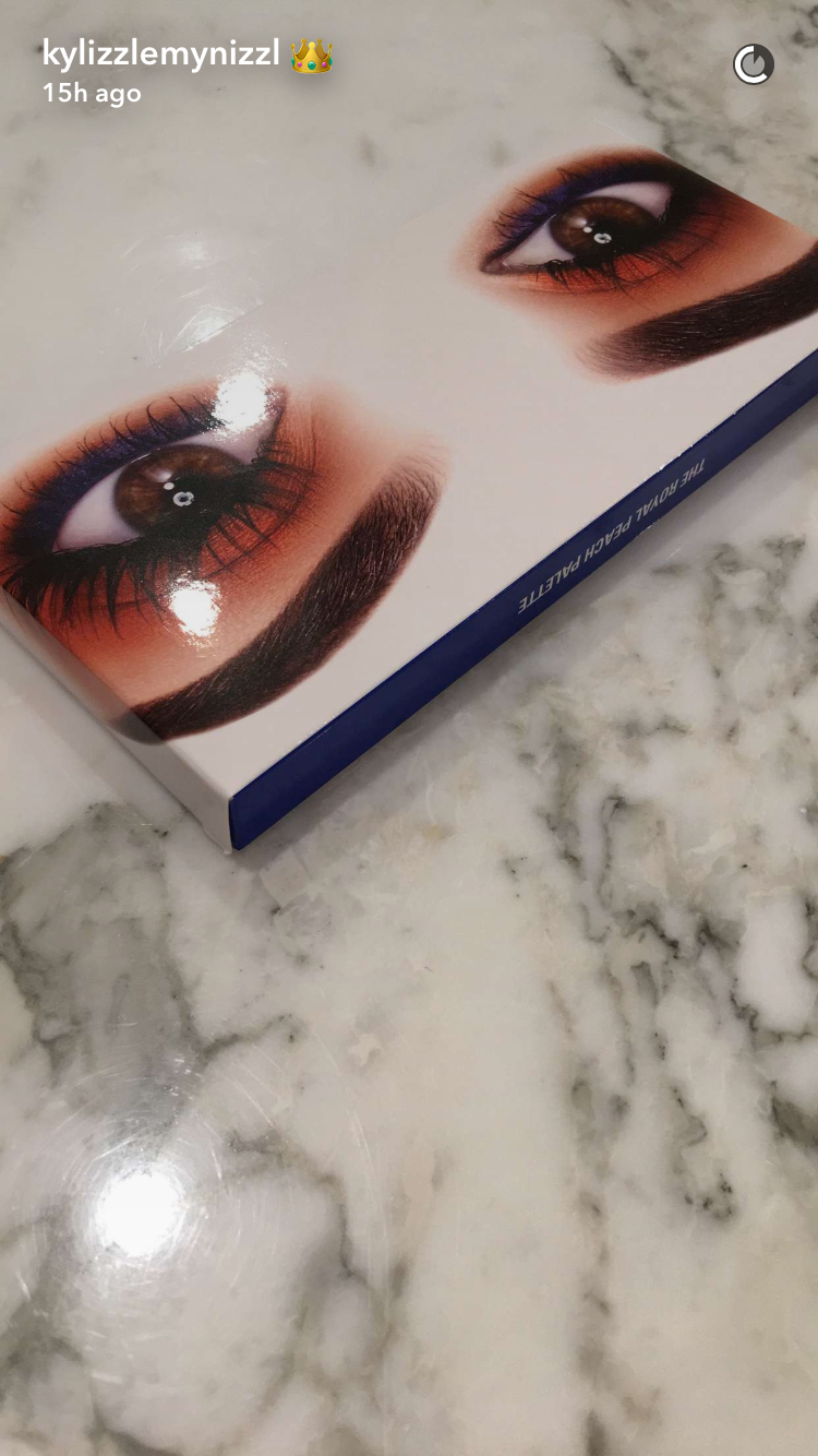 Here Is What Kylie Jenner's New Kyshadow Royal Peach
