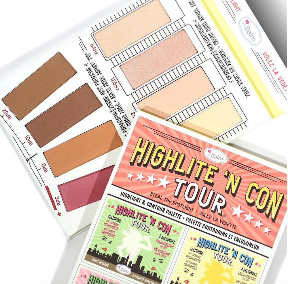 This highlighter and contour palette will make you feel like a true pop star with its singing-themed design