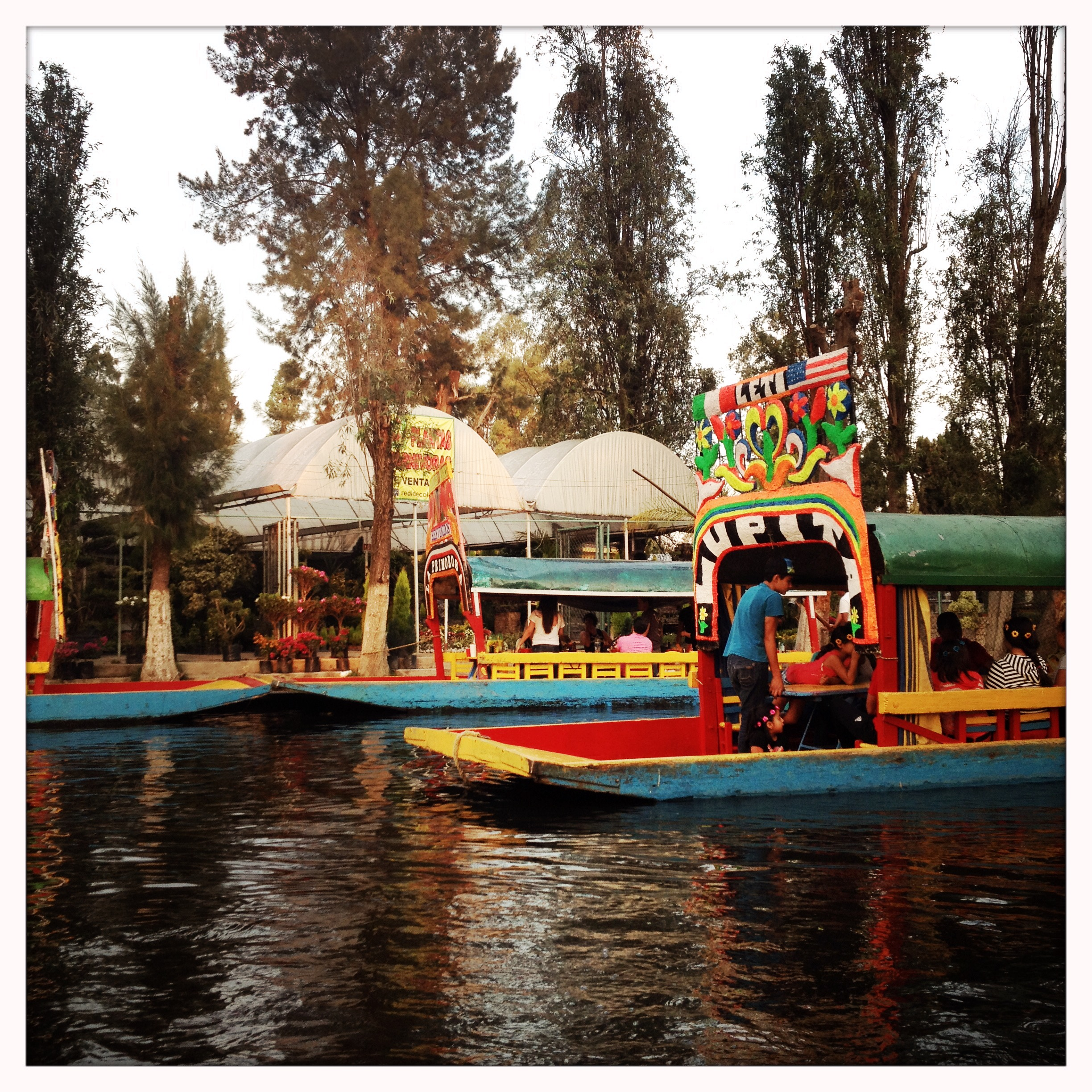 Please allow us to geek out over these floating Mexican restaurants