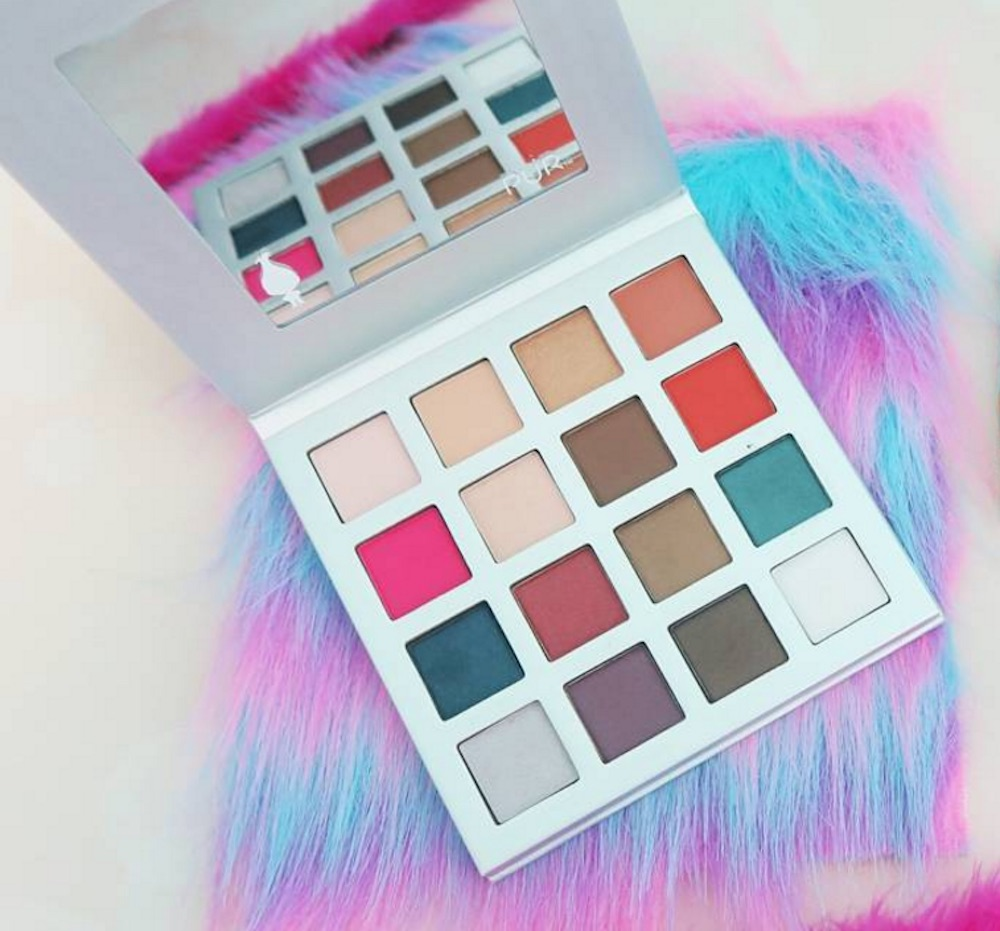 "Pur Cosmetics is coming out with a colorful ""Trolls"" eyeshadow palette"