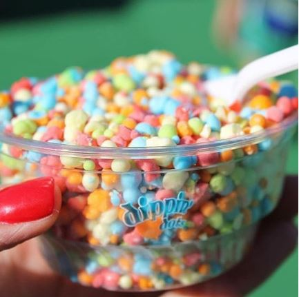 So *this* is why you can't buy Dippin' Dots at the grocery store