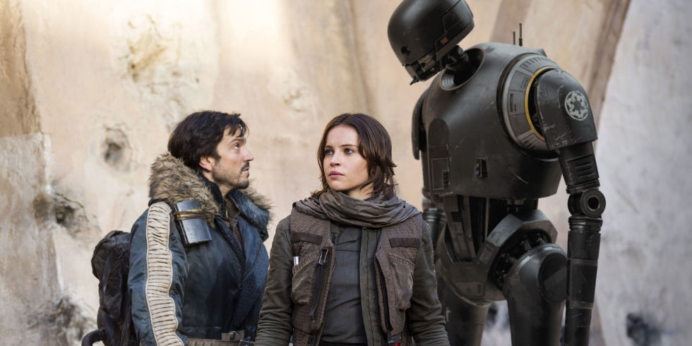 """Turns out, """"Rogue One"""" WAS supposed to have an opening crawl"""