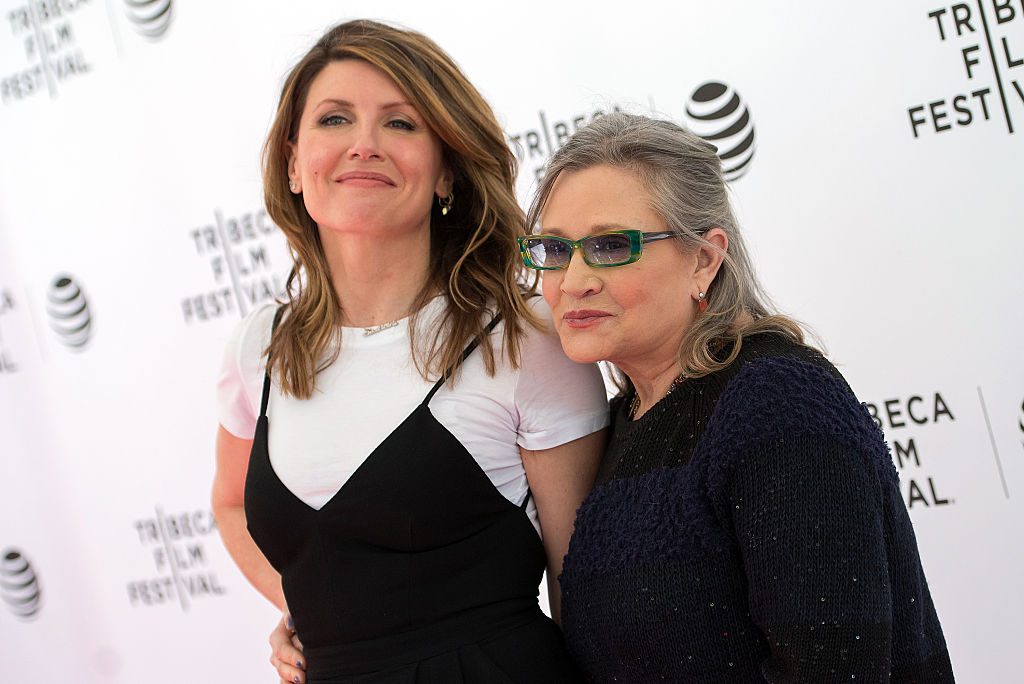 """Catastrophe's"" Sharon Horgan thanks the dark lord that she spent Carrie Fisher's last night in London with her"