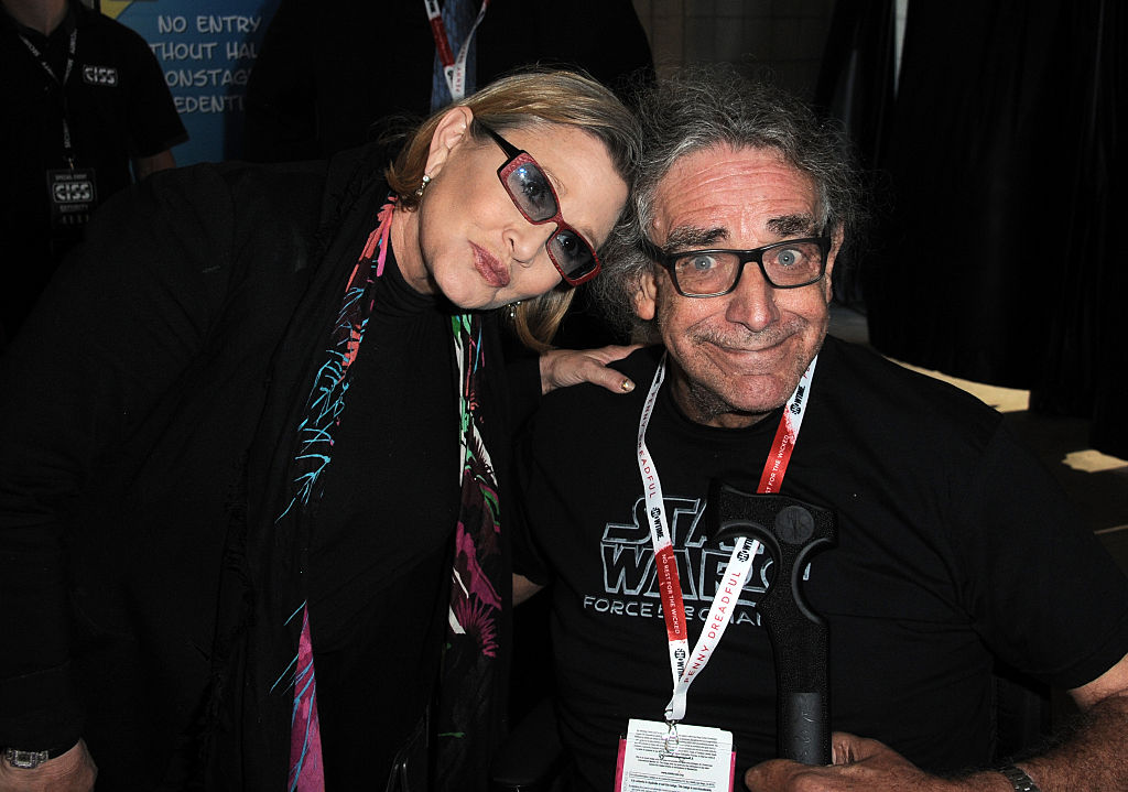 Peter Mayhew (aka Chewbacca) started the perfect hashtag for Carrie Fisher's legacy