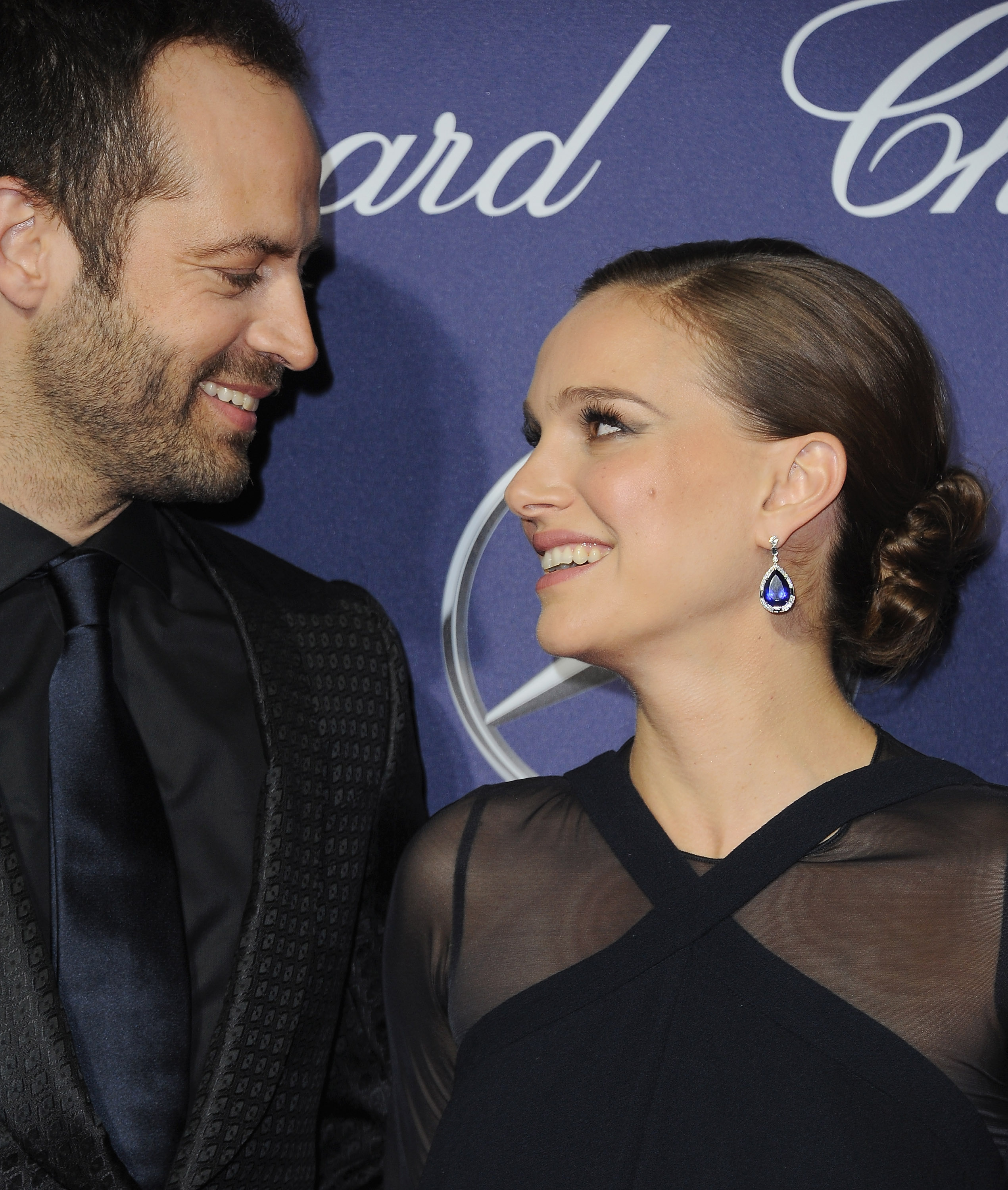 Natalie Portman's baby bump fashion just won the Palm Springs International Film Festival