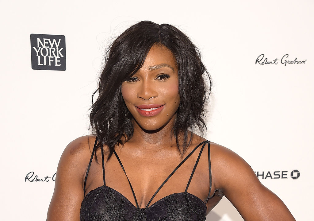 Serena Williams posted a pic of her engagement ring, and it wasn't what we were expecting