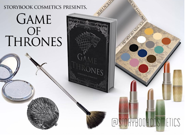 "OMG: ""Game of Thrones""-inspired makeup might be coming courtesy of Storybook Cosmetics"