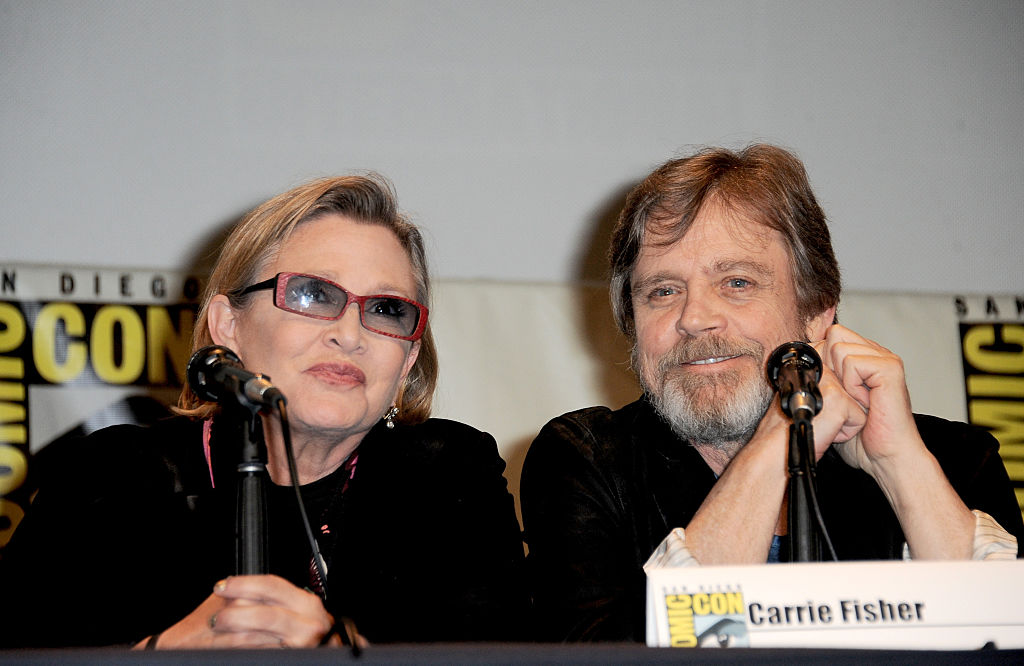 Mark Hamill explains he loved Carrie Fisher like a sister, and here we are crying again