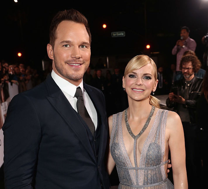 On a scale of 1 to 10, Anna Faris and Chris Pratt's son is OUT OF THIS WORLD CUTE